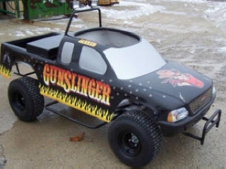 Monster Truck Go Kart